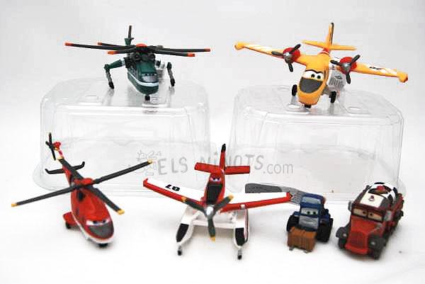 Figures Avions 2 Equip de Rescat
