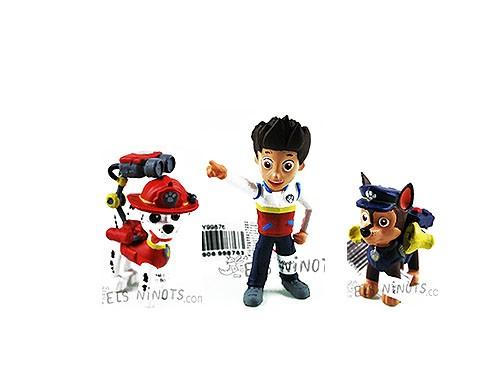 Figurines Patrouille Canine (Paw Patrol)