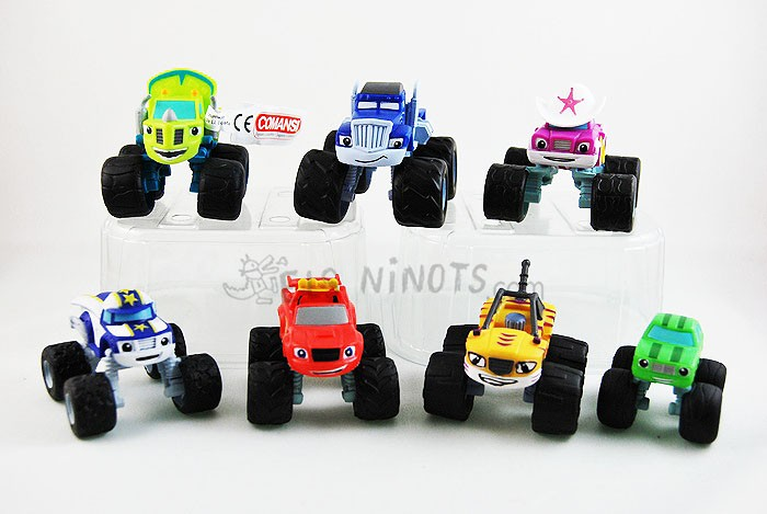 Figures de Blaze Monster Machines