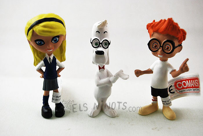 Figures de Peabody & Sherman