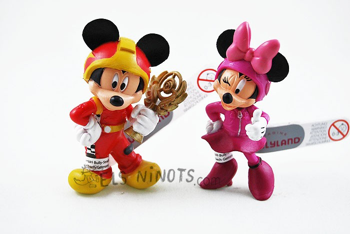 Figuras Mickey y los Superpilotos