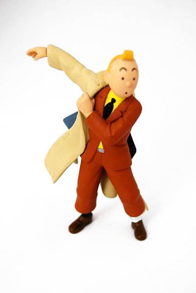 Figurines collection Tintin