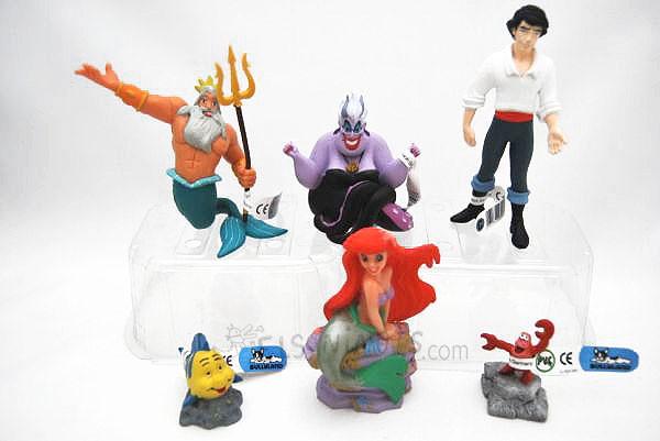 Figuras la Sirenita de Disney