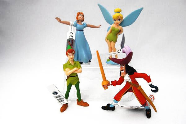 Figuras Peter Pan de Disney