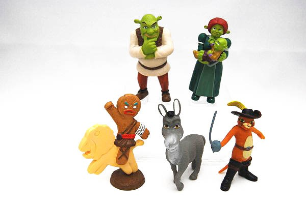 Collection figures Shrek