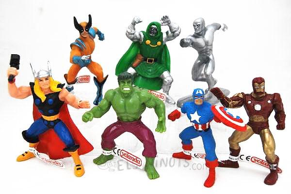Colecciones figuras comics