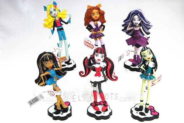 Figures Monster High Comansi